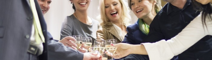 image of people at a party
